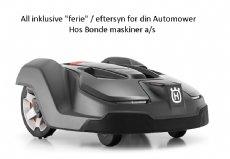 salg af Automower All inklusive ferie