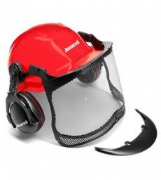 salg af Jonsered Hjelm med max sight visir