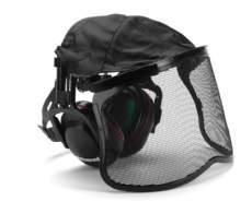 salg af Høreværn med visir jonsered beklædning