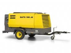 salg af Kompressor XATS 186 jd udlejning