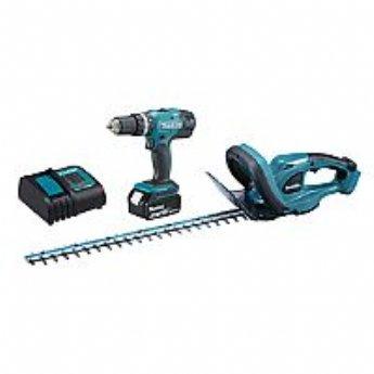 salg af Makita 18V Hækkeklipper & skruemaskine