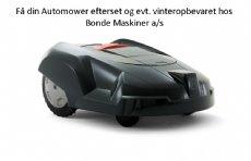 salg af Automower Mini ferie/Forårs klargøring