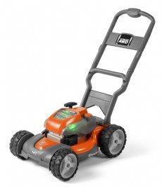 salg af Husqvarna plæneklipper legetøj